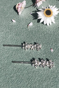Summer Phlox Hair Pins RYHN jewellery Lights of All Collab