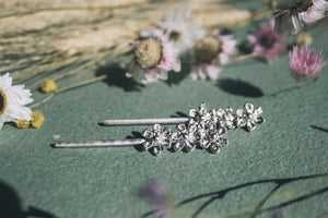 Summer Phlox Hair Pins RYHN jewellery Lights of All Collab Alt view