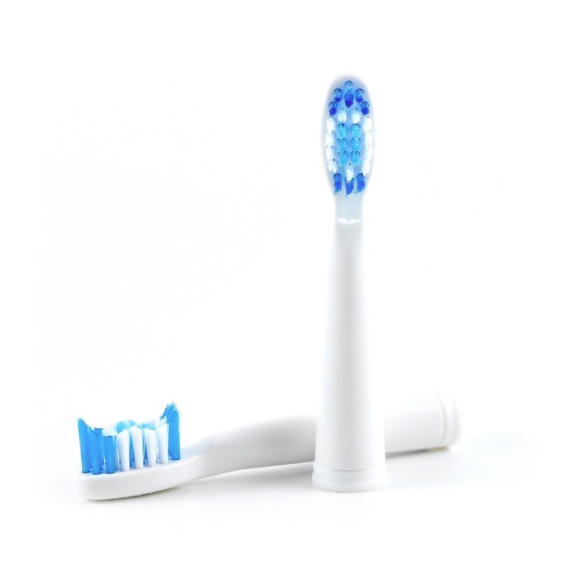 Pro, Go, and USB Sonic Replacement Brush Heads Replacement Toothbrush Heads - Pop Sonic LLC