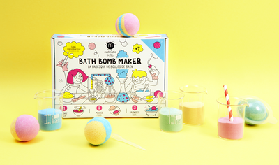 KIT PARA CREAR BATHBOMBS - NAILMATIC
