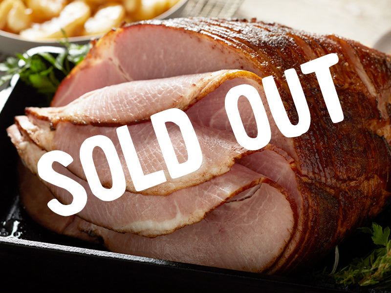 SOLD OUT Spiral-Sliced Ham