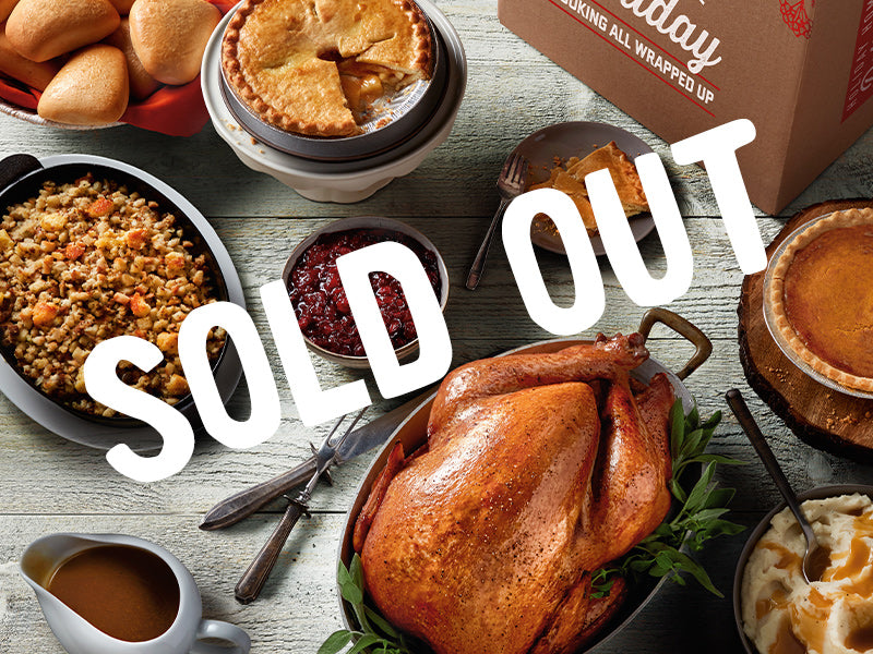 SOLD OUT Whole Roasted Turkey Meal for 12