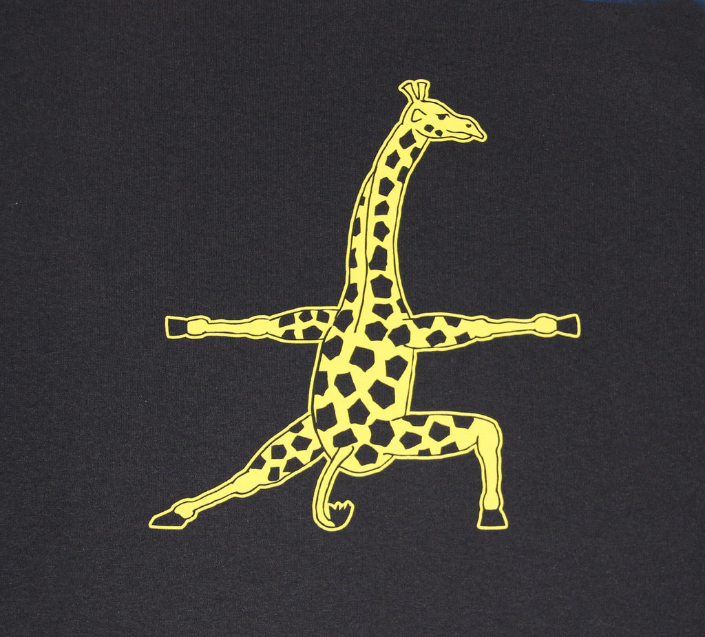 Women's Giraffe Athletic Printed T-Shirt