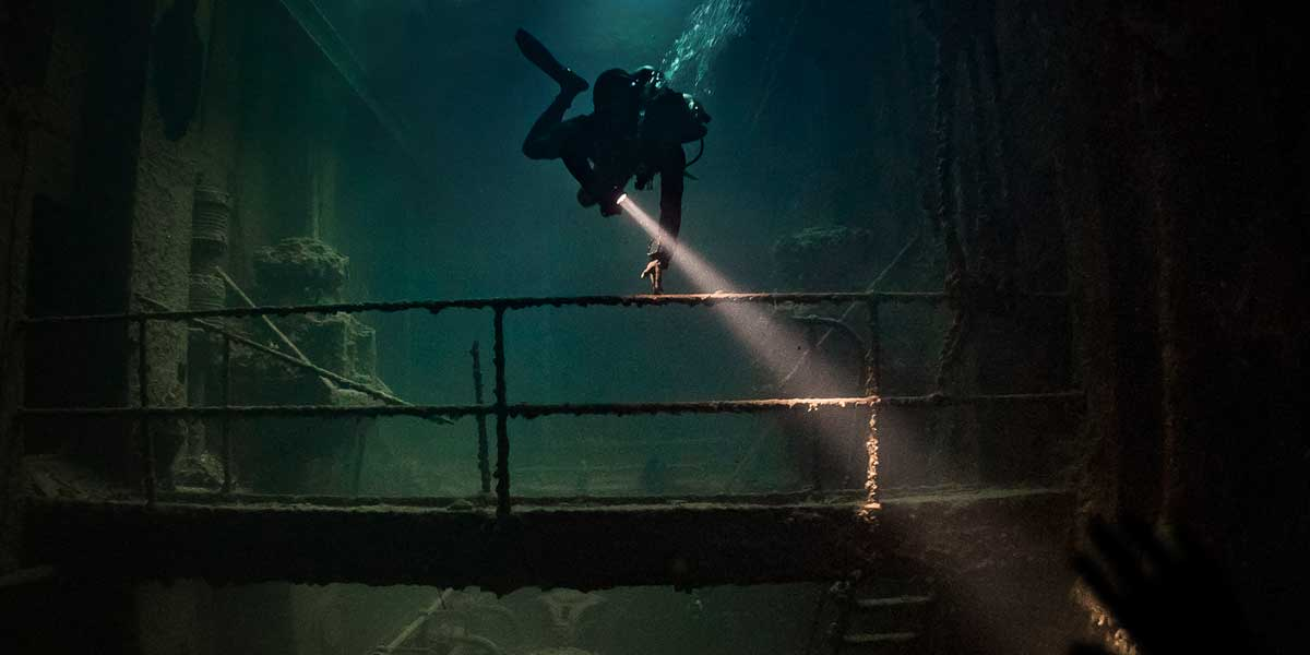 The Creepiest Dive Discoveries