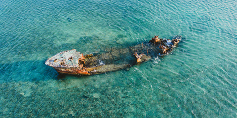 Beauty Below the Surface: Shallow Shipwrecks for Snorkelers