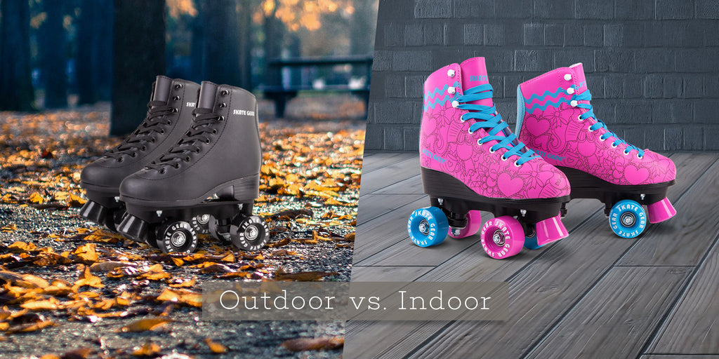 Indoor vs. Outdoor Roller Skates: What's the Difference?