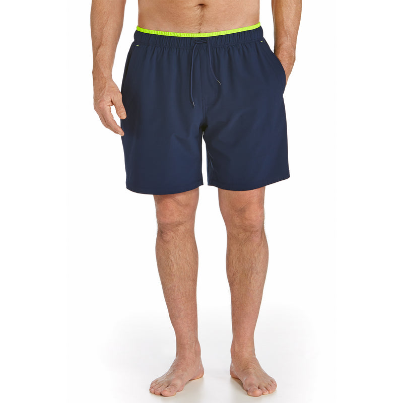 Coolibar Men's Swim Trunks with Compression Shorts Liner