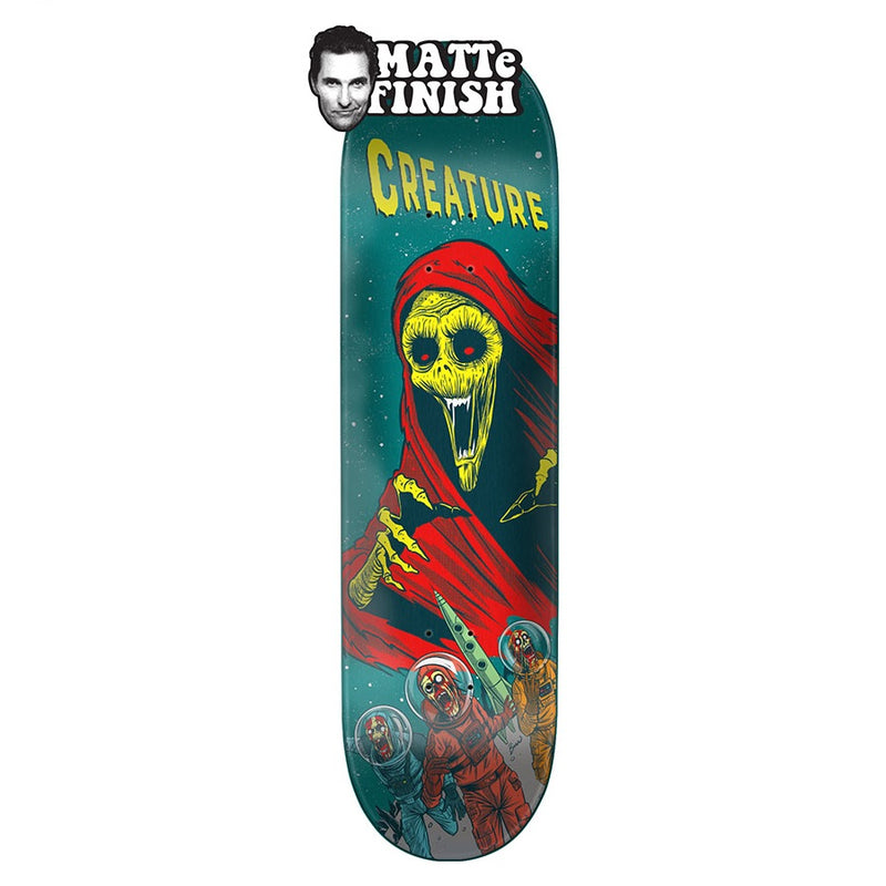 Creature Space Horrors MD 8.0in x 31.8in Skateboard Deck