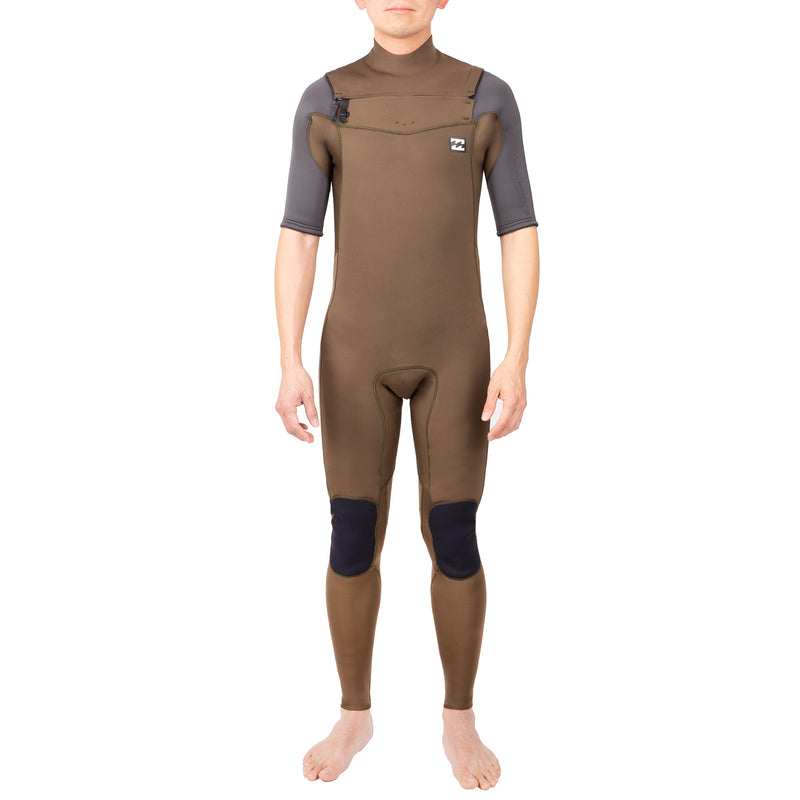 A camouflage Billabong wetsuit