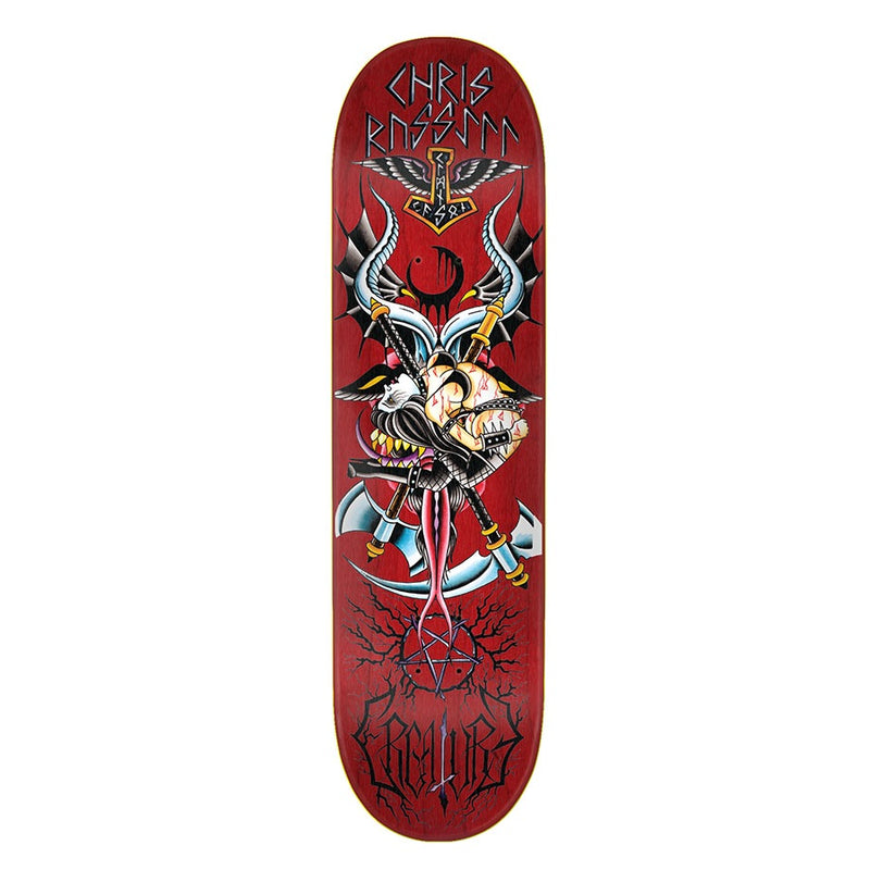 Creature Russell Upside Downer 8.375in x 32in Skateboard Deck