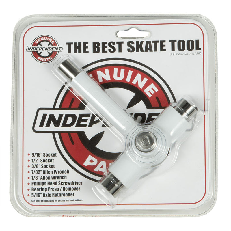 INDEPENDENT REFLEX Threader Skateboard Tool BEST SKATE TOOL White