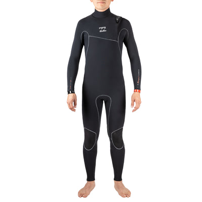 Black Billabong Men's Furnace Carbon Zipperless Boa winter wetsuit