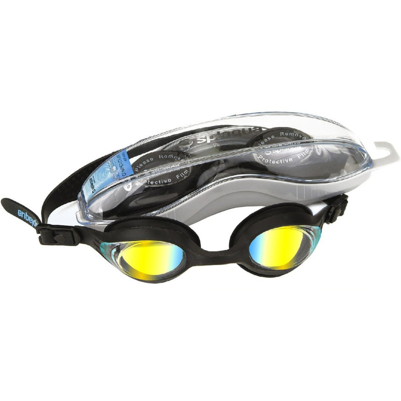 Splaqua Metallized Lens Optical Correction Swim Goggles