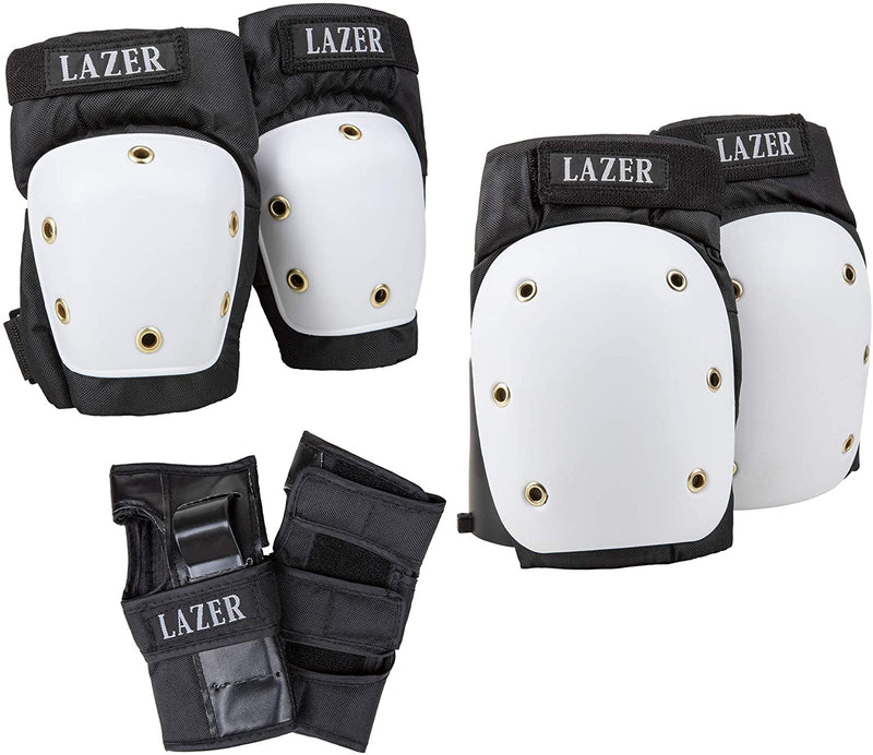 LAZER 3-in-1 Professional Pad Set in A Net Carry Bag