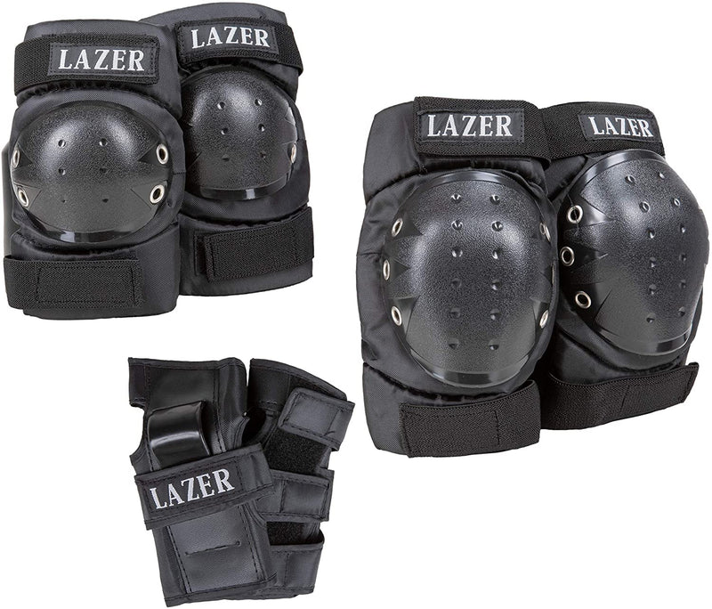 LAZER 3-in-1 Pad Set in Net Carry Bag