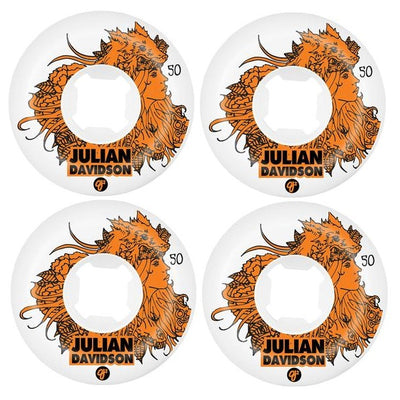 OJ White Julian Davidson Skateboard Wheels | 50mm 101A