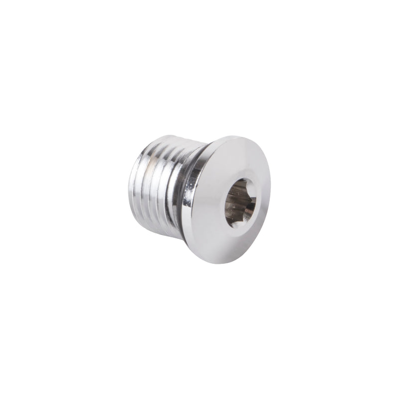 Trident Regulator Second Stage Plug, 1/2 Inch, Stainless Steel