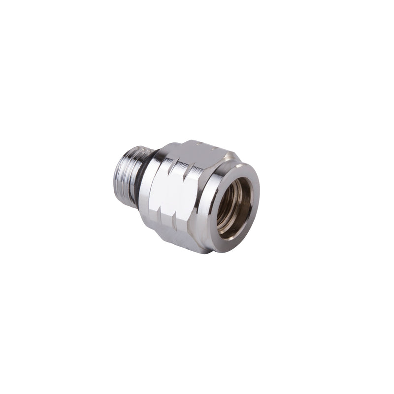 Trident Low Pressure Hose Connector / Adapter, 3/8 Inch Female to 7/16 Inch Male