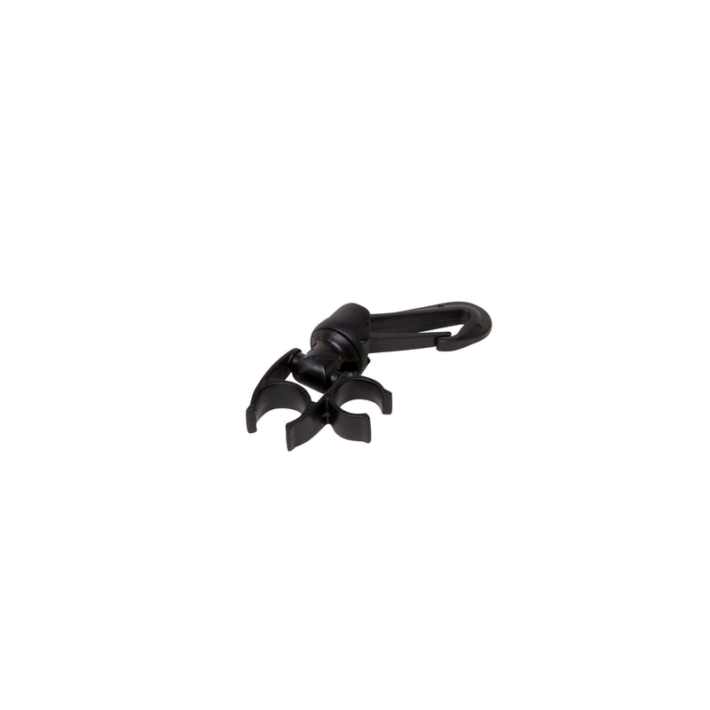 Trident Two Station Y-Type Scuba Hose Holder with Swivel Gate Clip