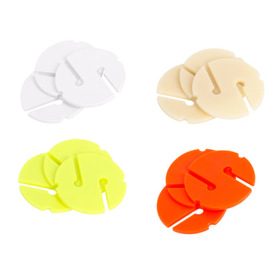 IST AW-4 Round Guide Line Marker, Fluorescent Colors - 5 Pack