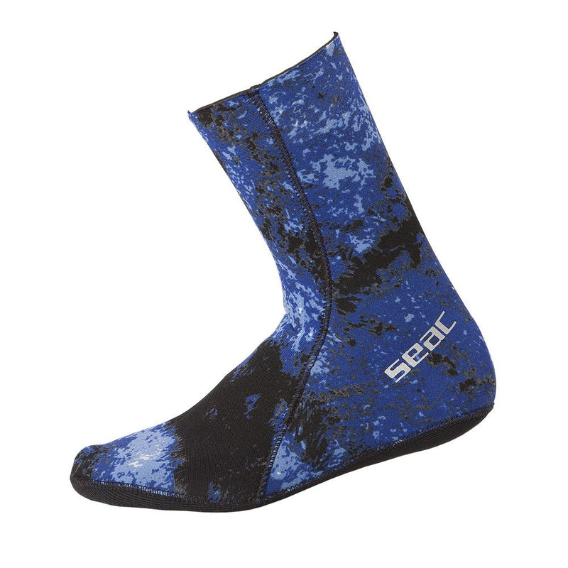 SEAC 3.5mm Anatomic Camo Sock with Traction Sole for Spearfishing