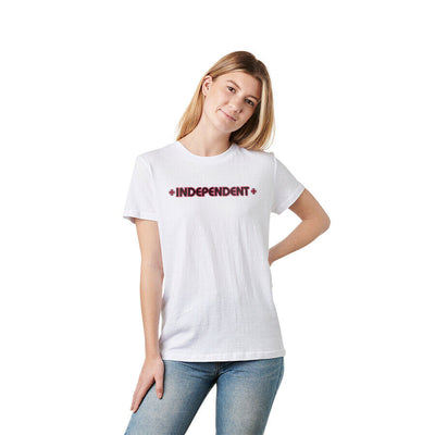 Independent Women's Bar/Cross S/S Boyfriend T-Shirt