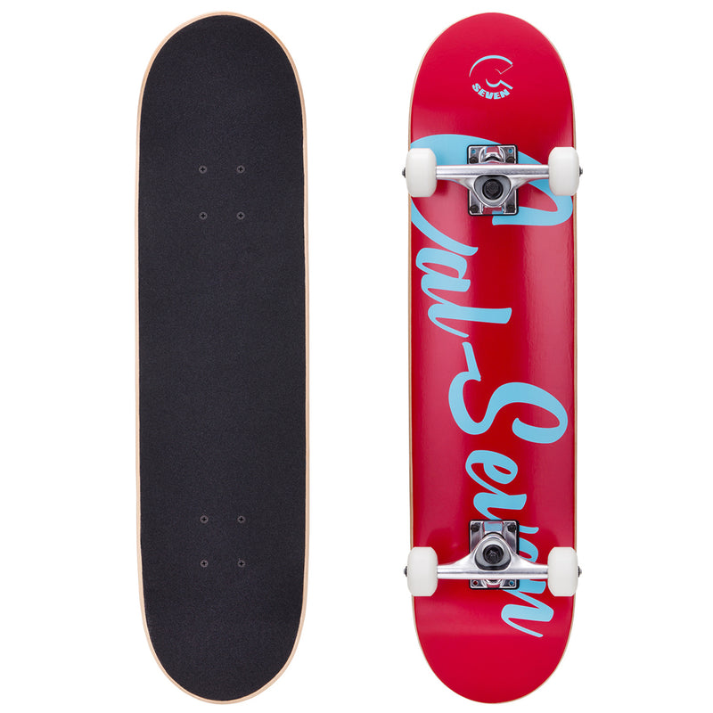 Cal 7 Complete Skateboard | 7.5 PCH Red