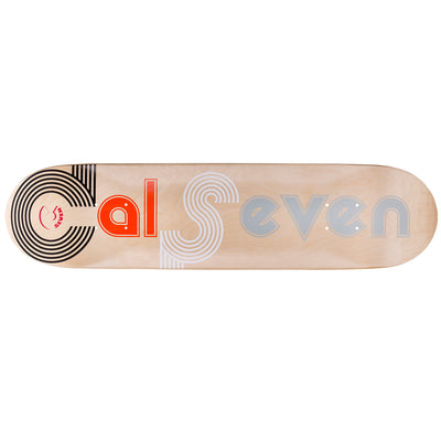 Cal 7 Studio City Skateboard Deck Canadian Maple 8 Inch Popsicle Trick