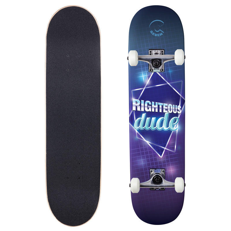 Cal 7 Complete Skateboard | 7.75 80's Righteous