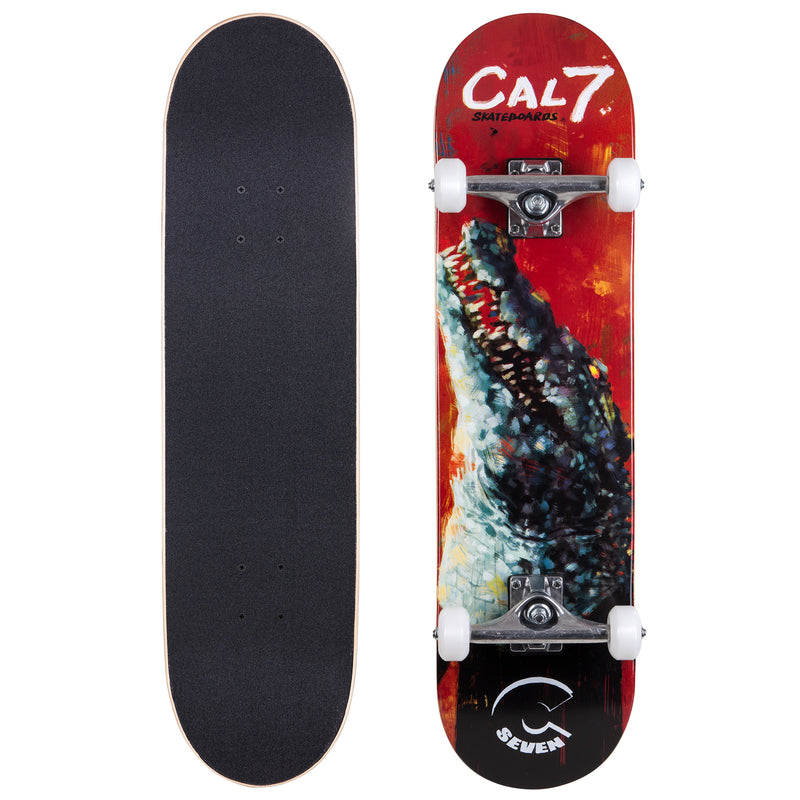 Cal 7 Ravenous Complete 8-Inch Skateboard