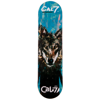 Cal 7 Rogue Skateboard Deck Canadian Maple 8 Inch Popsicle Trick