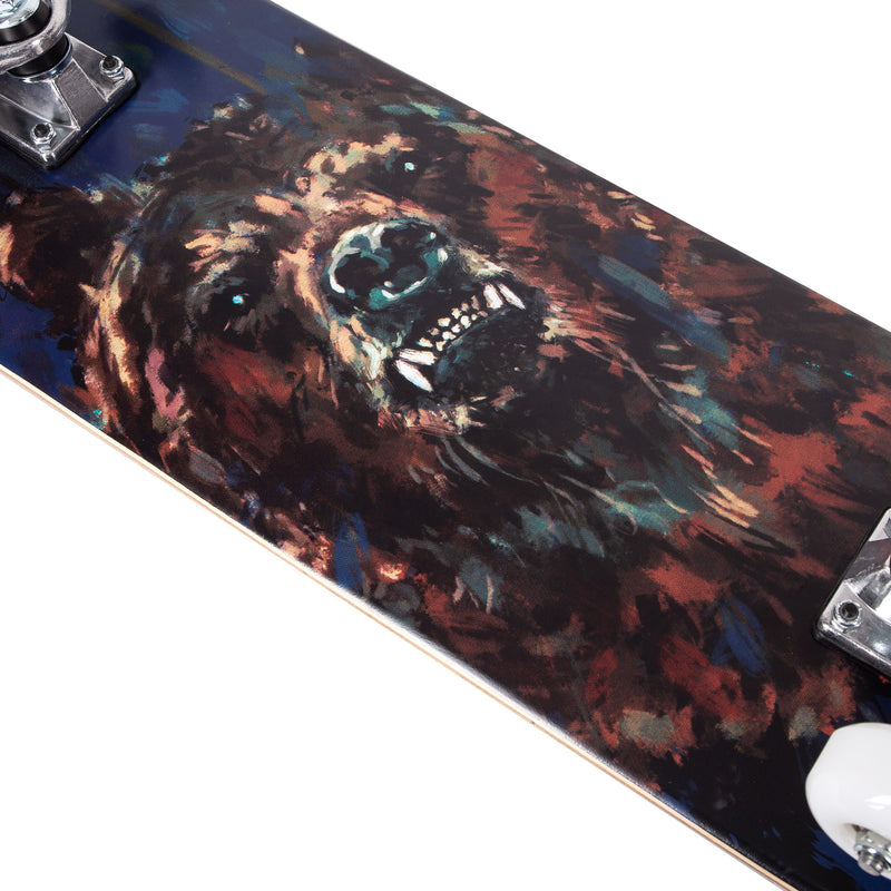 Cal 7 Complete Skateboard | 8.0 Savage Bear