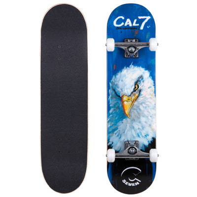 Cal 7 Complete Skateboard | 8.0 Valor Eagle