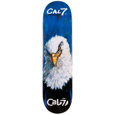 Cal 7 Valor Eagle Skateboard Deck Canadian Maple 7 Ply 8.25 Inch Popsicle Trick
