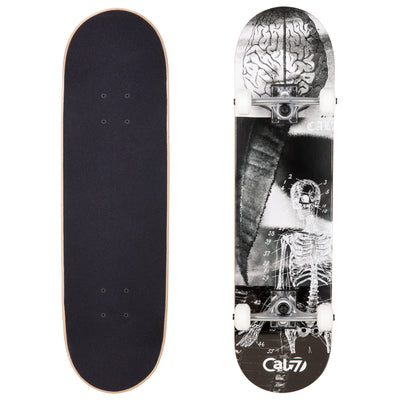 Cal 7 Complete 8.0 Inch Anatomy Skateboard