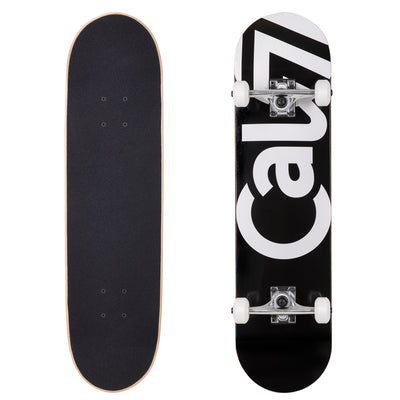 Cal 7 Black Tundra Complete 8.0 Inch skateboard