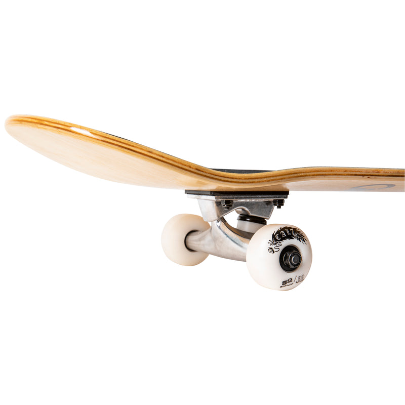 Cal 7 Grain Complete 7.5/7.75/8-Inch Skateboard with Natural Grain Stain