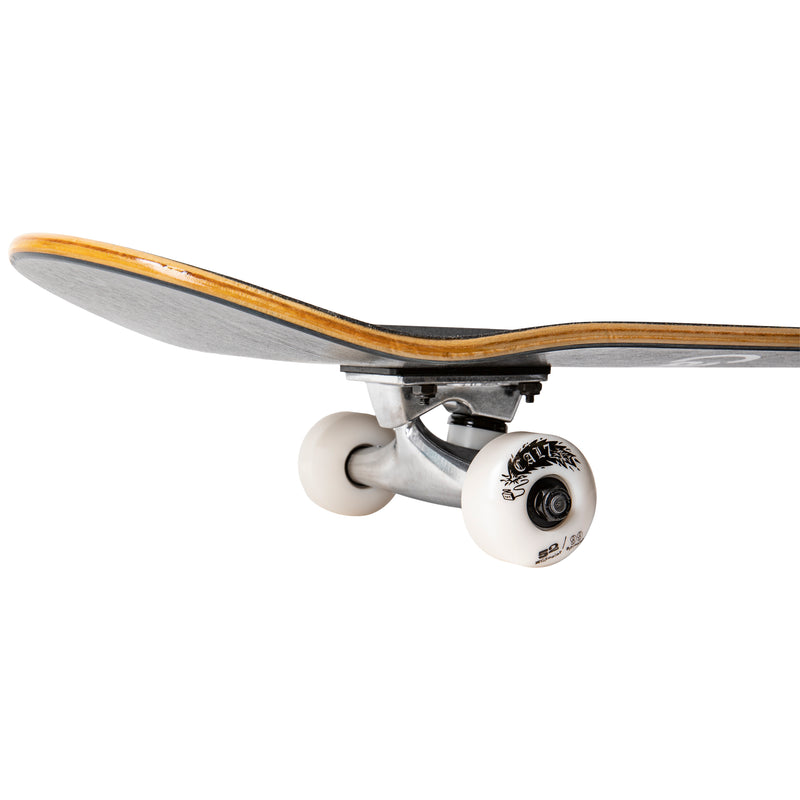Cal 7 Midnight Complete 7.5/7.75/8-Inch Skateboard with Camouflage Design and White Cal 7 Logo
