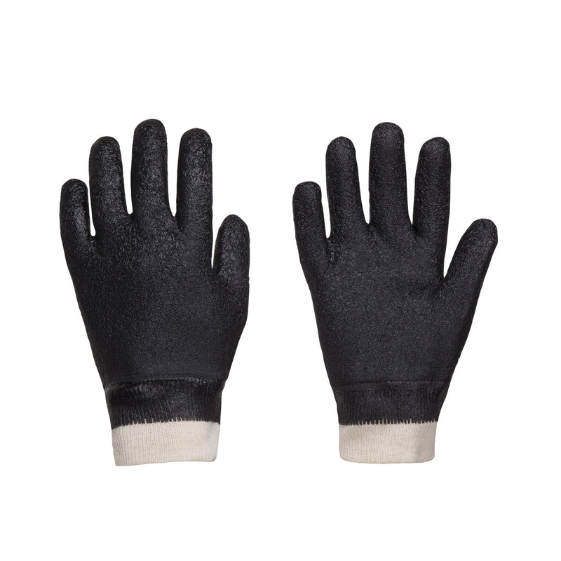 Trident Rubber Coated Cut and Puncture Resistant Knit Gloves