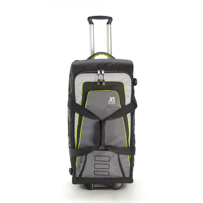 XS SCUBA Leeward 60 Roller Duffel Bag with Internal Side Pockets and Tow Strap