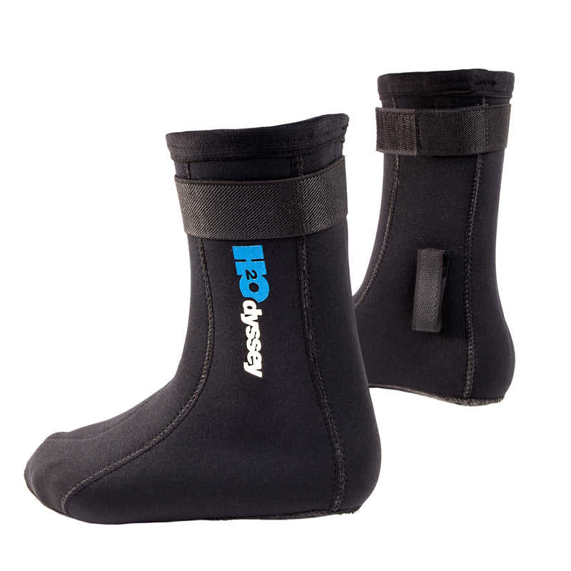 H2Odyssey 3mm Neoprene Sock with Extra High Ankle & Traction Sole