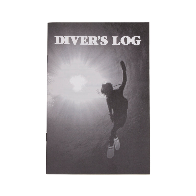 Trident Standard Diver's Log Book with Dive Tables