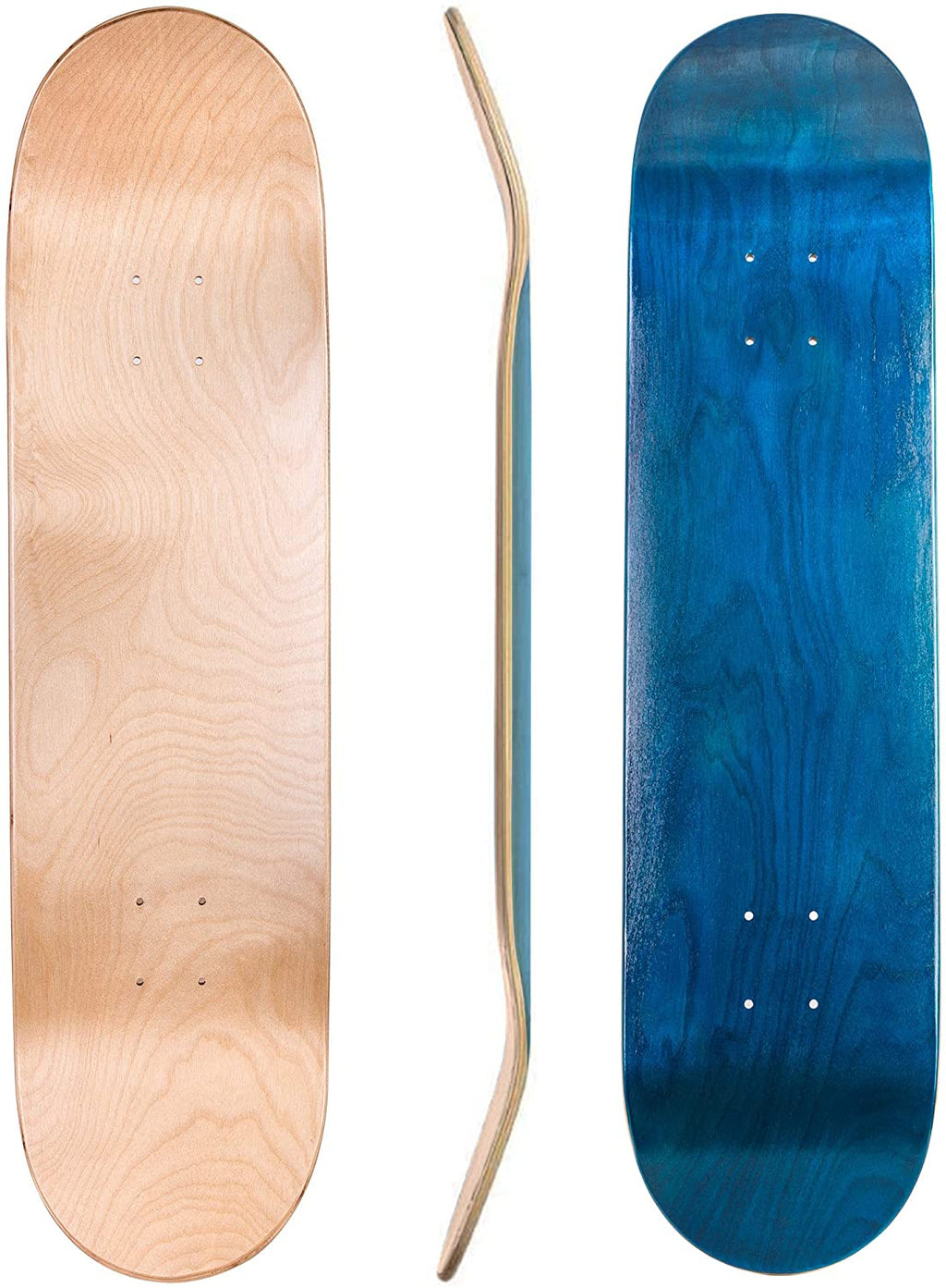 "Blank Maple Skateboard Deck | 7.75"", 8.0"", 8.25"", 8.50"""