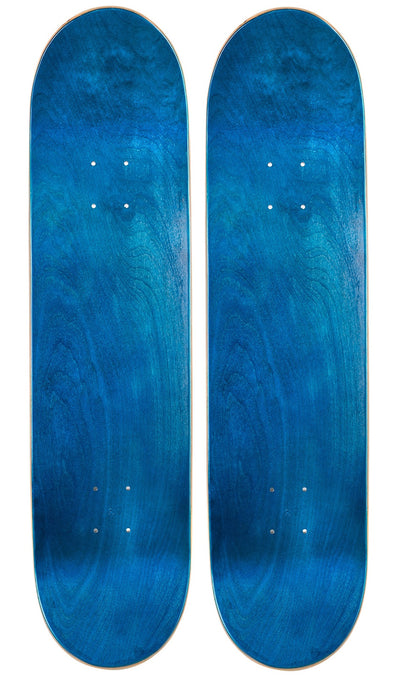 Pack of 2 Blank Skateboard Decks | 7.75, 8.0, 8.25, 8.5