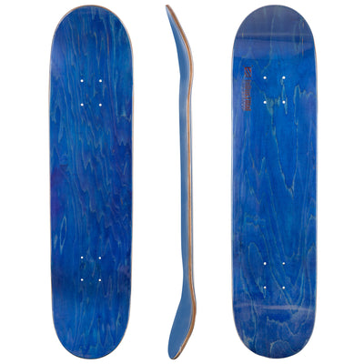 Blank Industrial Canadian Maple Deck in Blue