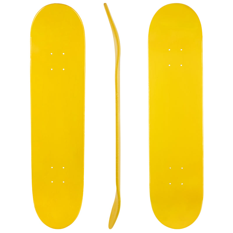 "Blank Turbo 7.5"" Canadian Maple Deck 