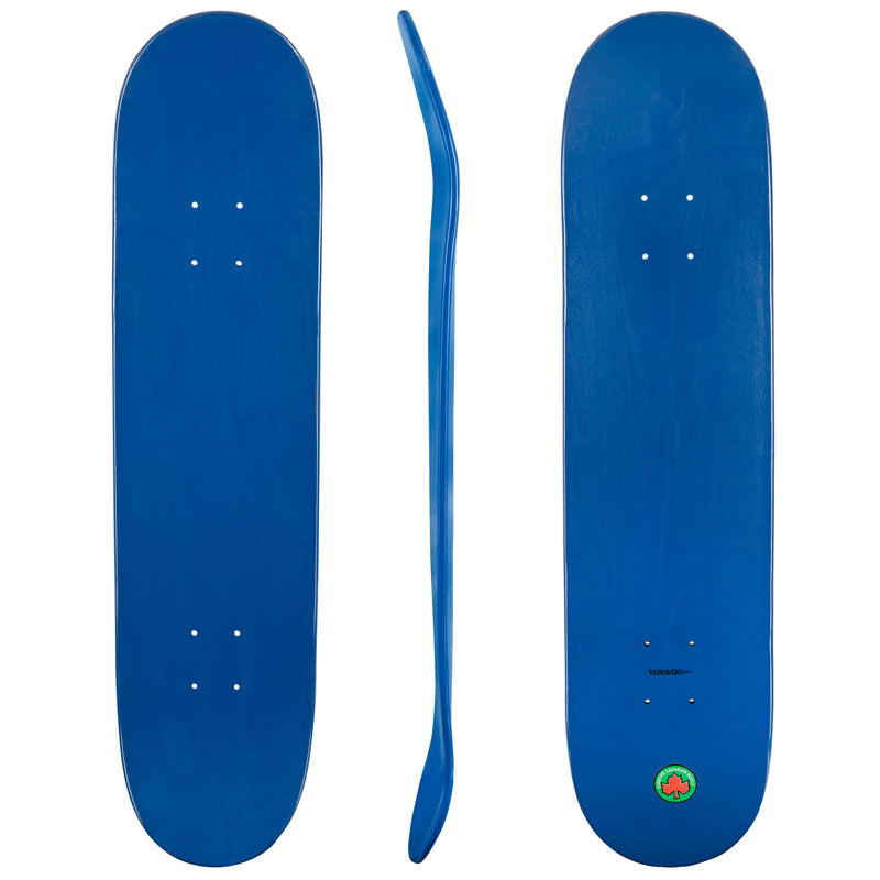 Blank Turbo Cal 7 Canadian Maple Deck Blue