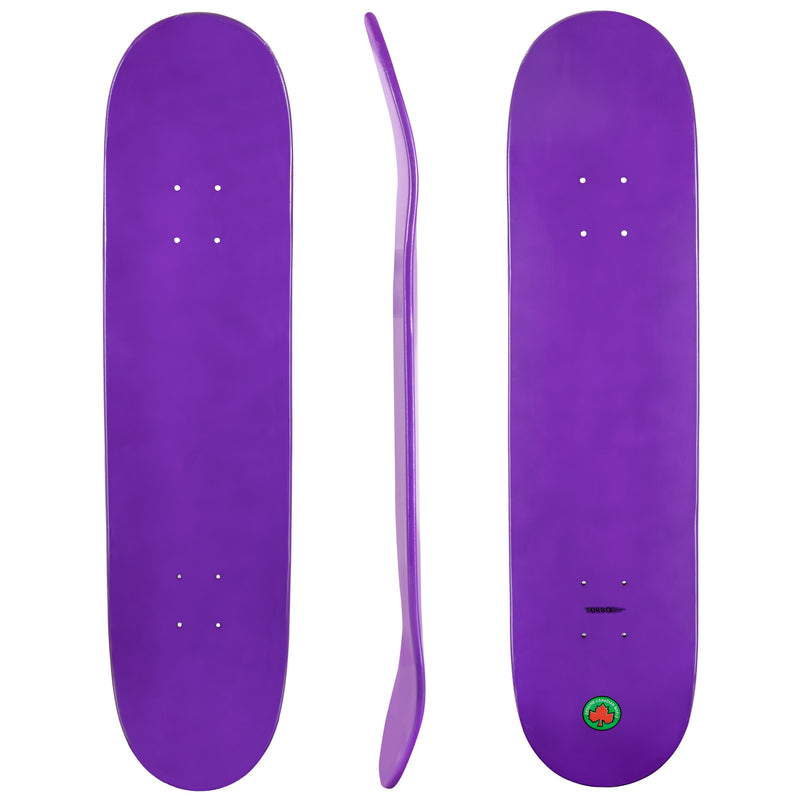 Blank Turbo Cal 7 Canadian Maple Deck Purple