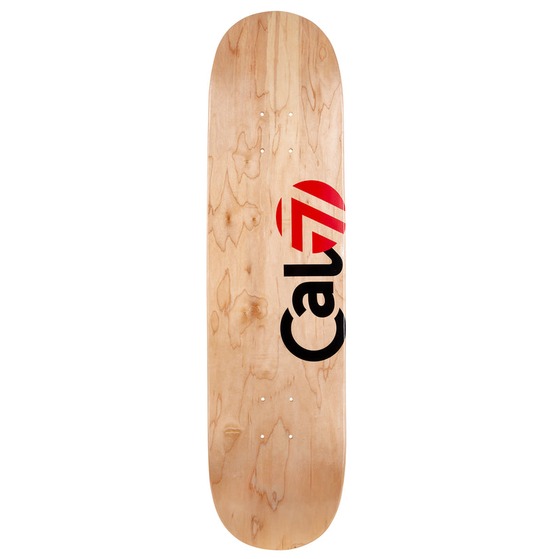 Cal 7 Delta Skateboard Deck Canadian Maple 7 Ply 8 Inch Popsicle Trick