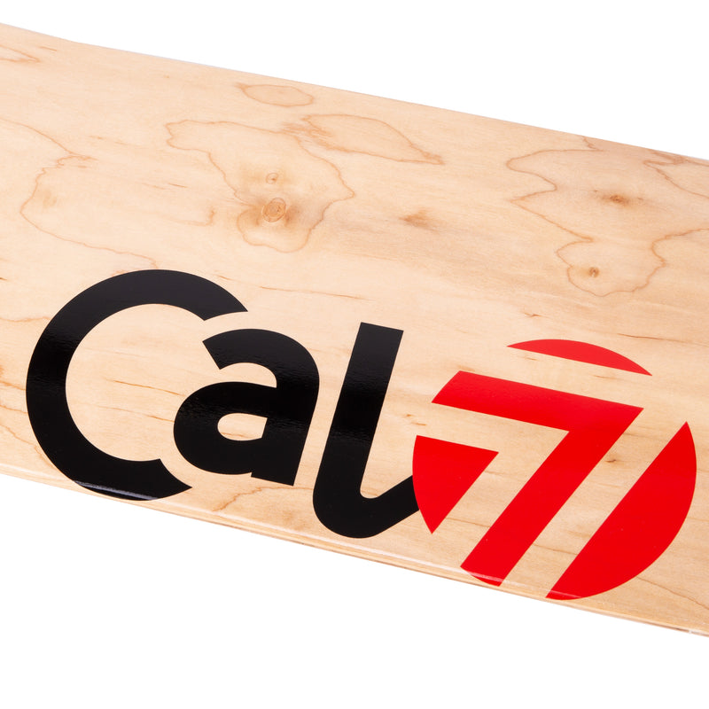Cal 7 Delta Skateboard Deck Maple 7 Ply 7.75 Inch Popsicle Trick